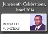 Juneteenth Celebrations, Israel 2014