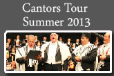 cantors tour summer 2013